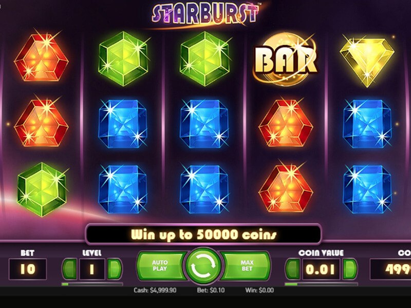 Starburst Slot Game screenshot 1