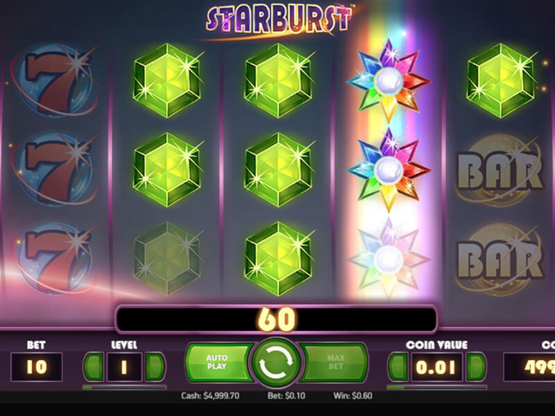 Starburst Slot Game screenshot 2
