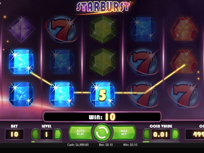 Starburst Slot Game screenshot 3
