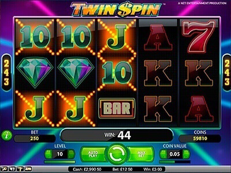 Everything you know about Twin Spin slot